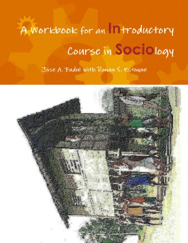 9780557120864: A Workbook for an Introductory Course in Sociology