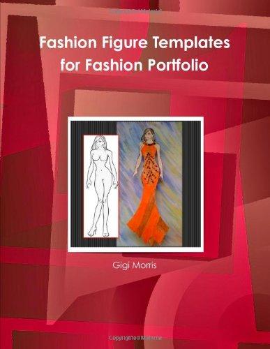 9780557131976: Fashion Figure Templates for Fashion Portfolio