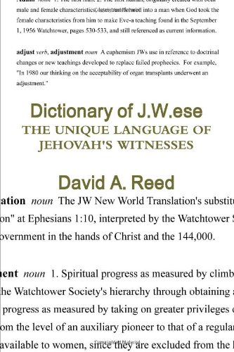 9780557226856: Dictionary of J.W.ese