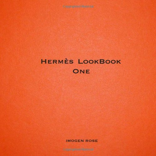 Hermes LookBook One 9780557236084 A collection of portraits of individuals enjoying their Hermis scarves, bags and jewelry. Please note that this book is not a collaborat