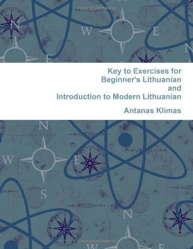 9780557253326: Key to Exercises for Beginner's Lithuanian and Introduction to Modern Lithuanian