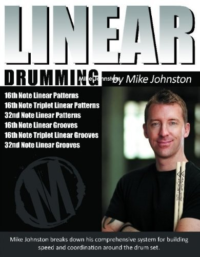 9780557265893: Linear Drumming [Spiralbindung] by Mike Johnston