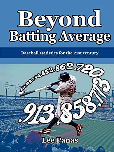 9780557312245: Beyond Batting Average