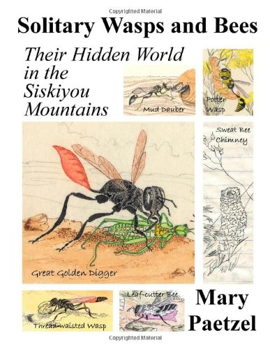 9780557369706: Solitary Wasps and Bees: Their Hidden World in the Siskiyou Mountains