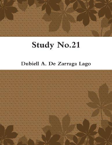 9780557443567: Study No.21