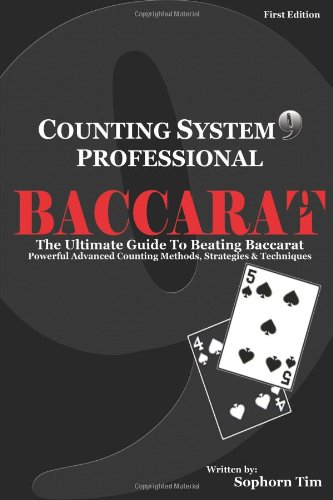 9780557469611: Counting System 9 Professional Baccarat