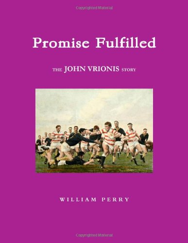 9780557528844: Promise Fulfilled The John Vrionis Story