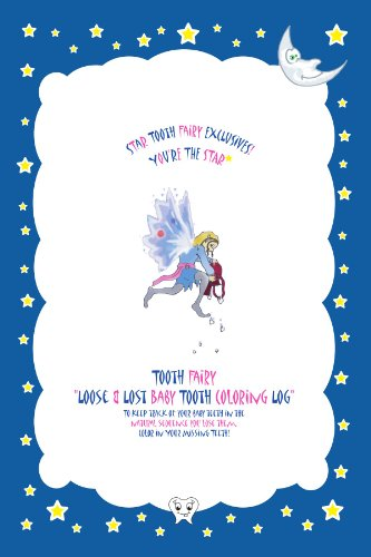 9780557562688: Tooth Fairy Loose & Lost Baby Tooth Coloring Log