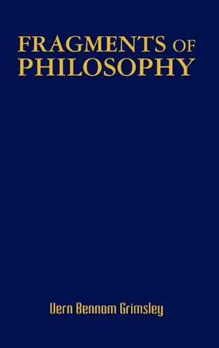 9780557615506: Fragments of Philosophy
