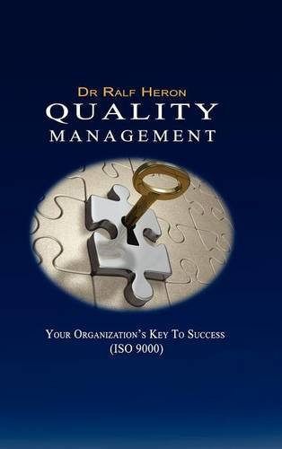 Quality Management Your Key To Success: Dr. Ralf Heron
