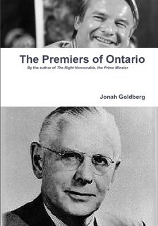 9780557627332: The Premiers of Ontario