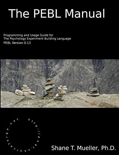 9780557658176: The pebl manual