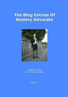 9780557700813: The Blog Entries Of Hosiery Advocate [Edition 1.1]