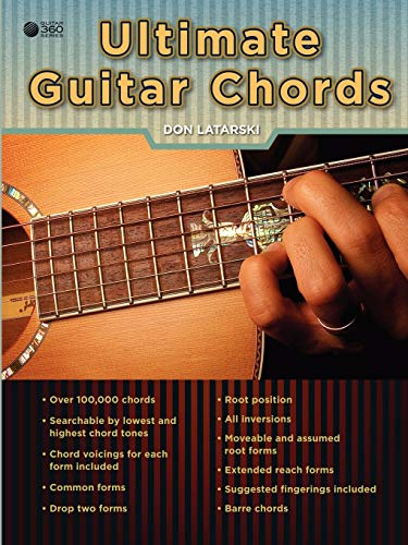 Ultimate Guitar Chords (0557719135) by Don Latarski