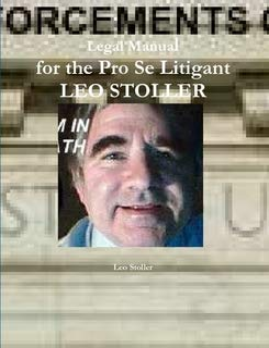 9780557917372: Legal Manual for the Pro Se Litigant