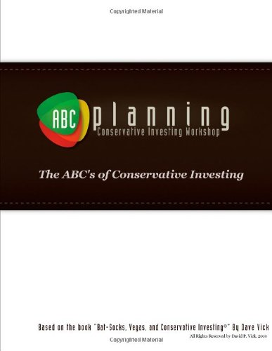 9780557918409: ABC's of Conservative Investing Workbook