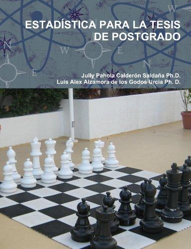 9780557976041: ESTAD�STICA PARA LA TESIS DE POSTGRADO