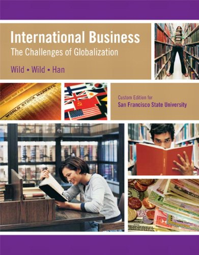9780558035532: International Business: The Challenges of Globalization (Custom Edition for San Fransisco State University)