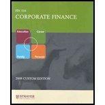 9780558037505: Corporate Finance: Fin534 FIN 534 (2008 Custom edition) by Strayer University (2007-05-03)