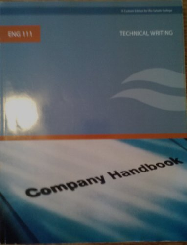 Technical Writing ENG 111 (Custom Edition for Rio Salado College): Gerson