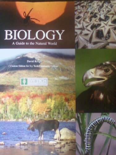 9780558074135: BIOLOGY - A Guide to the Natural World (Custom For Ivy Tech)