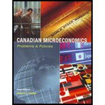 Canadian Microeconomics Problems And Policies: Lyons Brian