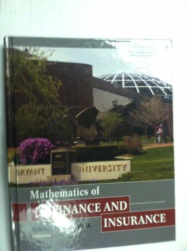 9780558086831: Mathematics of Finance and Insurance