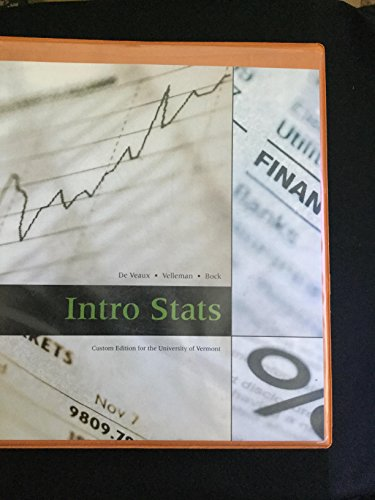 9780558087203: Intro Stats (Intro Stats: Custom Edition for the U