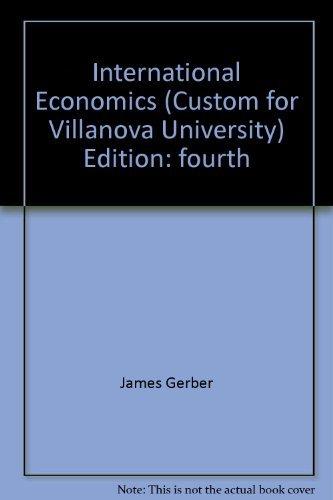 9780558087210: International Economics