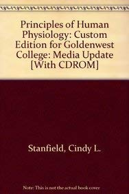 9780558087319: Principles of Human Physiology: Custom Edition for Goldenwest College: Media Update