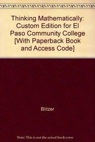 9780558110079: Thinking Mathematically: Custom Edition for El Paso Community College