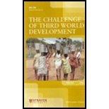 9780558132385: The Challenge of Third World Development