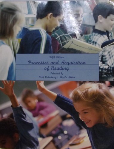 9780558140250: Processes and Acquisition of Reading, Fifth Edition--CUSTOM