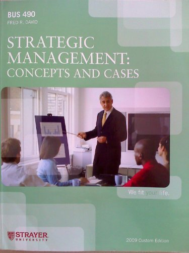 9780558169756: Strategic Management: Concepts and Cases