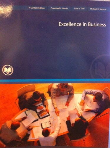 9780558176235: Excellence in Business
