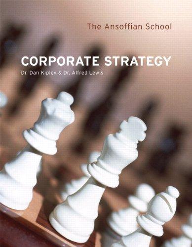 9780558199265: Corporate Strategy: Ansoffian School