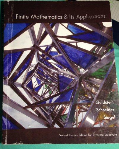 Finite Mathematics & Its Applications