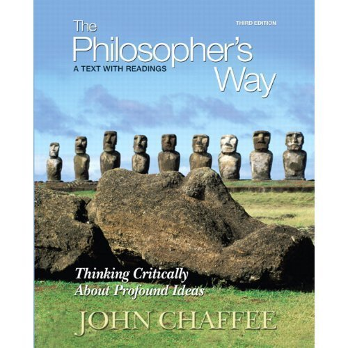9780558207830: The Philosopher's Way (Thinking Critically About Profound Ideas)