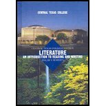Literature: An Introduction to Reading and Writing. 9th Edition. Central Texas College Custom ...