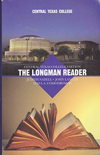 9780558223878: The Longman Reader, Central Texas College 9th Edition
