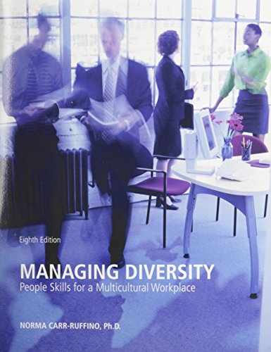 9780558224721: Managing Diversity People Skills for a Multicultural Workplace