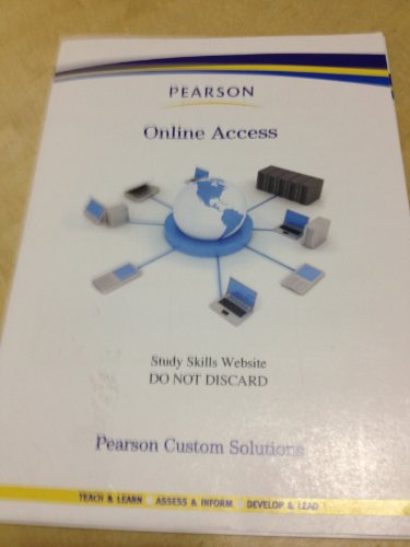 9780558224745: Pearson Online Access Study Skills Website