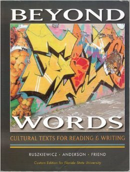 9780558226107: BEYOND WORDS Cultural Texts for Reading & Writing - Custom Edition for Florida State University