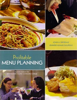 9780558230081: Profitable Menu Planning Custom Edition for Schenectady County Community College