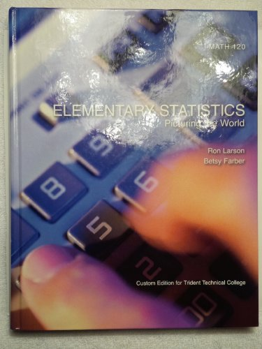 9780558230159: Elementary Statistics - Picturing the World