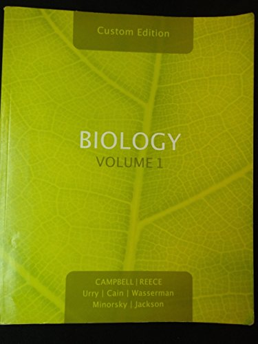 9780558230647: Biology Volume 1