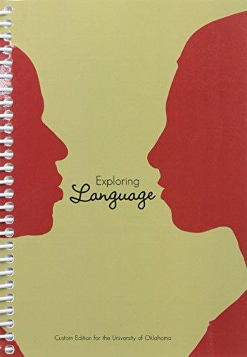 Exploring Language, Custom Edition for the University of Oklahoma: Gary Goshgarian