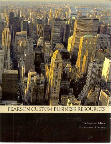 Pearson Custom Business Resources: The Legal and: Bartley Brennan, M.
