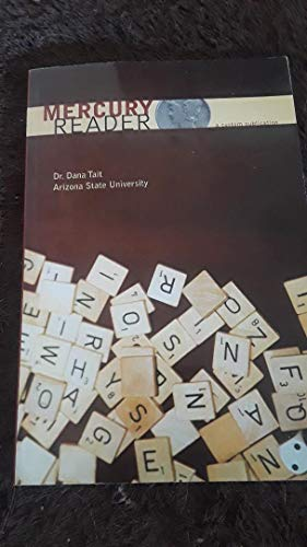 9780558276966: Mercury Reader : a custom publication for Arizona State University