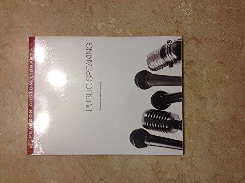 Public Speaking Mspcom-100 Fundamentals Public Speaking Peason Custom Library for Modesto Junior ...